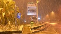 İstanbul'da Kar Yağışı Etkili Oldu! Bazı Yerler Beyaza Büründü