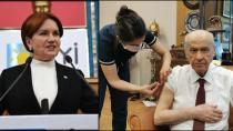 MHP VE İYİ PARTİ Lideri CoronaVac Aşısı Oldu